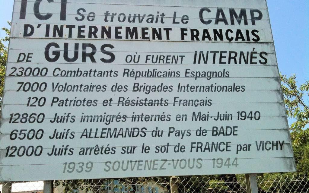 Le camps du Gurs par les élèves de 3 ème du collège des Cordeliers