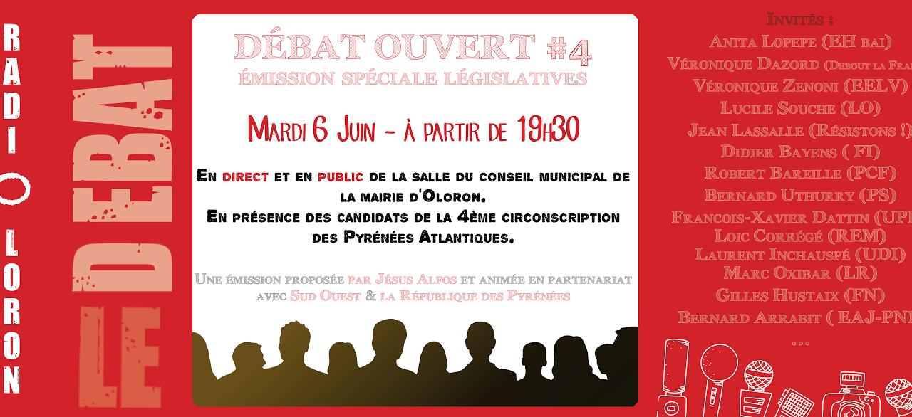 Débat ouvert -Législatives 2017