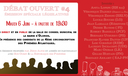 Débat ouvert (législatives 2017)